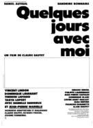 Quelques jours avec moi - French Logo (xs thumbnail)