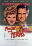 Texas - German Movie Poster (xs thumbnail)