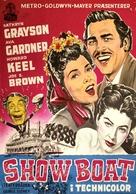 Show Boat - Danish Movie Poster (xs thumbnail)