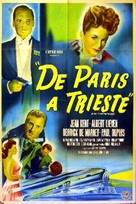 Sleeping Car to Trieste - Argentinian Movie Poster (xs thumbnail)