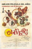 Oliver! - Spanish Movie Poster (xs thumbnail)