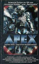 A.P.E.X. - German VHS cover (xs thumbnail)