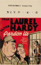 Pardon Us - Movie Poster (xs thumbnail)