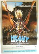 Heavy Metal - Swedish Movie Poster (xs thumbnail)