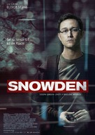 Snowden - German Movie Poster (xs thumbnail)