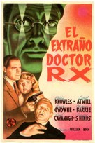 The Strange Case of Doctor Rx - Spanish Movie Poster (xs thumbnail)