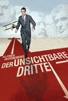 North by Northwest - German DVD cover (xs thumbnail)
