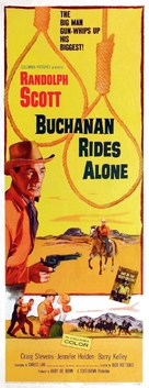 Buchanan Rides Alone - Movie Poster (xs thumbnail)
