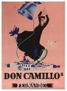 Le Petit monde de Don Camillo - Danish Movie Poster (xs thumbnail)