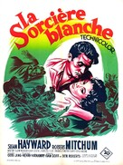 White Witch Doctor - French Movie Poster (xs thumbnail)
