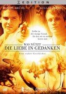 Was nützt die Liebe in Gedanken - German DVD cover (xs thumbnail)