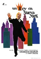 A King in New York - Spanish Movie Poster (xs thumbnail)