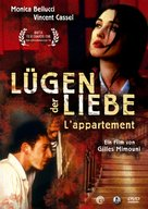 L'appartement - German Movie Cover (xs thumbnail)