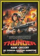 Thunder - German Movie Poster (xs thumbnail)