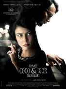 Coco Chanel & Igor Stravinsky - French Movie Poster (xs thumbnail)
