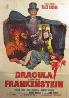 Drácula contra Frankenstein - Italian Movie Poster (xs thumbnail)
