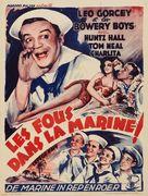 Let's Go Navy! - Belgian Movie Poster (xs thumbnail)