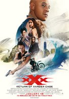 xXx: Return of Xander Cage - Lebanese Movie Poster (xs thumbnail)