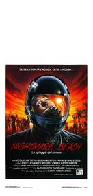 Nightmare Beach - Italian Movie Poster (xs thumbnail)