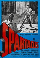 Spartacus - Swedish Movie Poster (xs thumbnail)