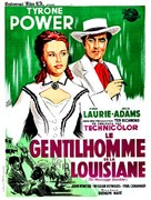 The Mississippi Gambler - French Movie Poster (xs thumbnail)
