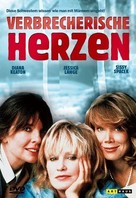 Crimes of the Heart - German DVD cover (xs thumbnail)