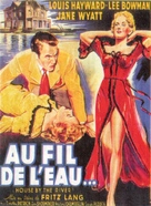 House by the River - French Movie Poster (xs thumbnail)