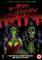 The Return of the Living Dead - British DVD movie cover (xs thumbnail)