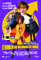 Austin Powers in Goldmember - Brazilian Movie Poster (xs thumbnail)