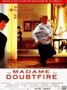 Mrs. Doubtfire - French Movie Poster (xs thumbnail)