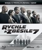 Furious 7 - Czech Blu-Ray movie cover (xs thumbnail)