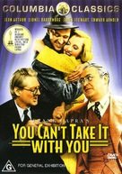 You Can't Take It with You - Australian DVD movie cover (xs thumbnail)