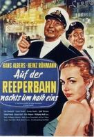 Auf der Reeperbahn nachts um halb eins - German Movie Poster (xs thumbnail)