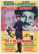 Me and the Colonel - Spanish Movie Poster (xs thumbnail)