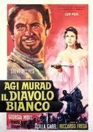 Agi Murad il diavolo bianco - Italian Movie Poster (xs thumbnail)