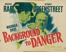 Background to Danger - Movie Poster (xs thumbnail)