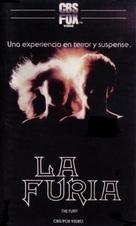 The Fury - Spanish VHS cover (xs thumbnail)