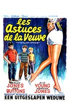 A Ticklish Affair - Belgian Movie Poster (xs thumbnail)