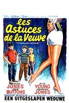 A Ticklish Affair - Belgian Movie Poster (xs thumbnail)