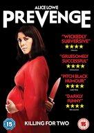 Prevenge - British Movie Cover (xs thumbnail)