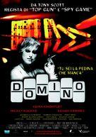 Domino - Italian Movie Poster (xs thumbnail)