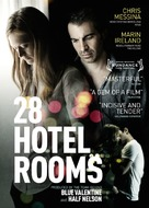 28 Hotel Rooms - Swedish Movie Poster (xs thumbnail)