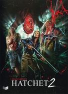 Hatchet 2 - Austrian Blu-Ray movie cover (xs thumbnail)