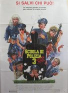 Police Academy 3: Back in Training - Italian Movie Poster (xs thumbnail)