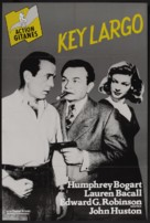 Key Largo - French Re-release movie poster (xs thumbnail)