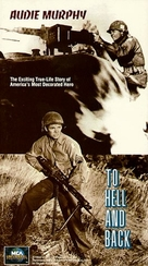 To Hell and Back - VHS movie cover (xs thumbnail)
