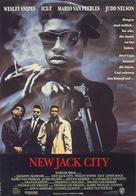 New Jack City - German Movie Poster (xs thumbnail)