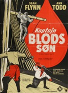 El hijo del capitán Blood - Danish Movie Poster (xs thumbnail)