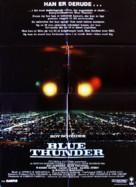 Blue Thunder - Danish Movie Poster (xs thumbnail)