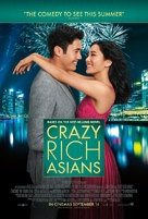 Crazy Rich Asians - British Movie Poster (xs thumbnail)